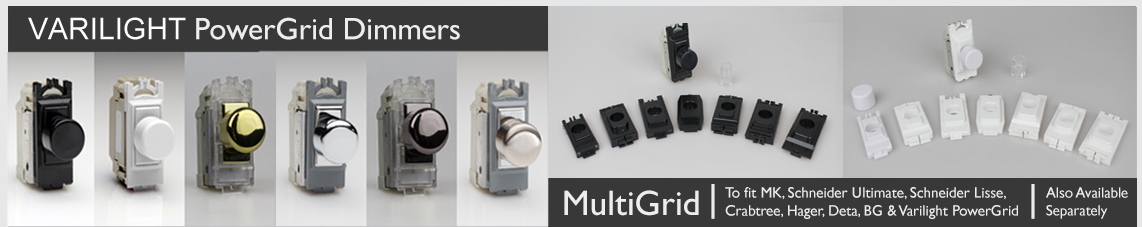 Varilight Grid Dimmers - PowerGrid and Multi-Grid