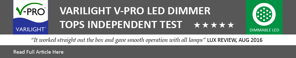 VARILIGHT V-Pro Tops Independent Test