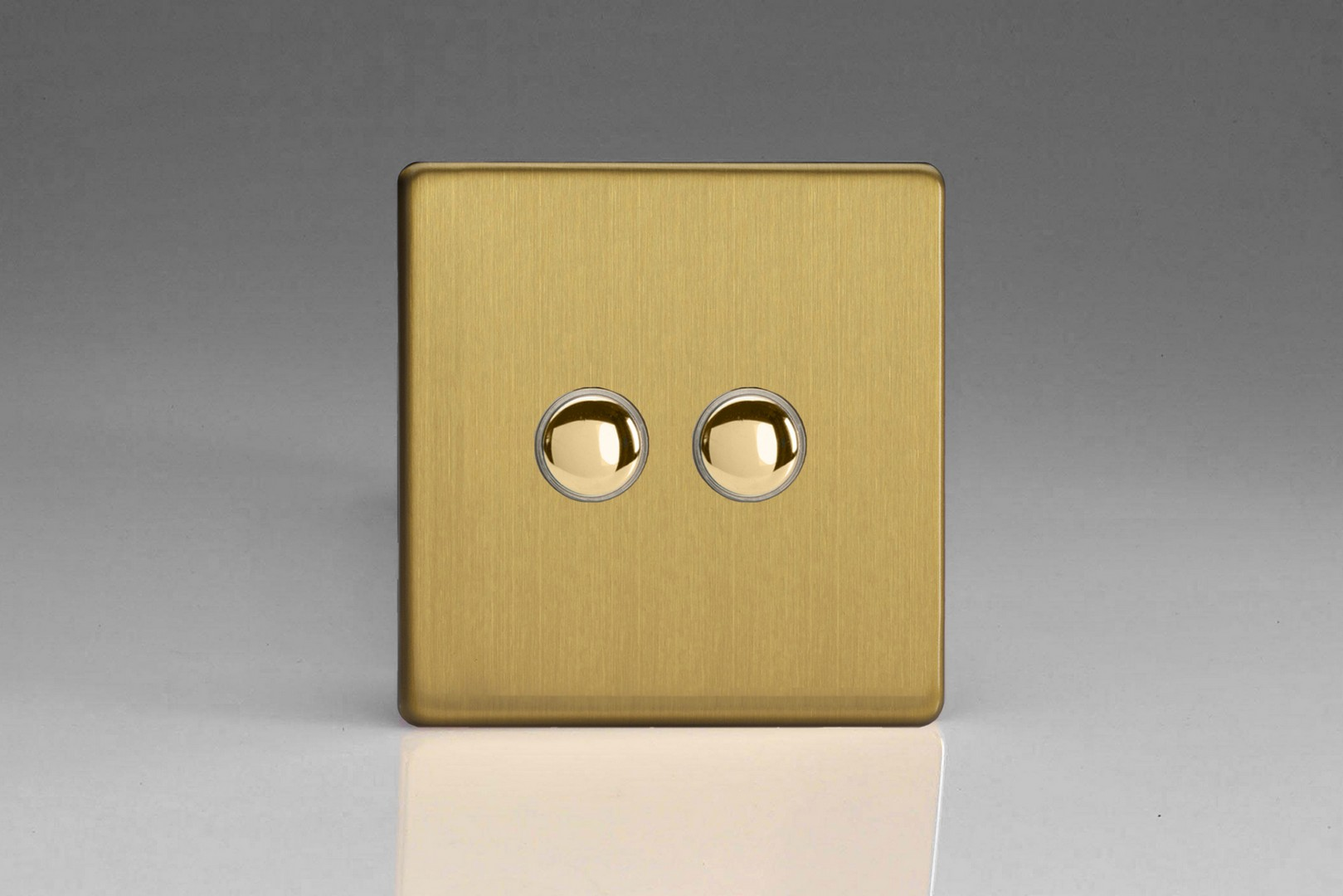 Brushed Brass Impulse Switch