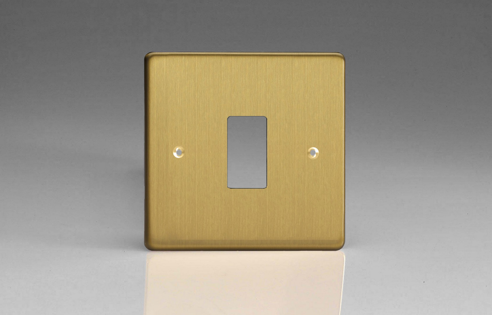 Varilight Powergrid Collection Two Gang Switch Wiring Diagram Brushed Brass Plate
