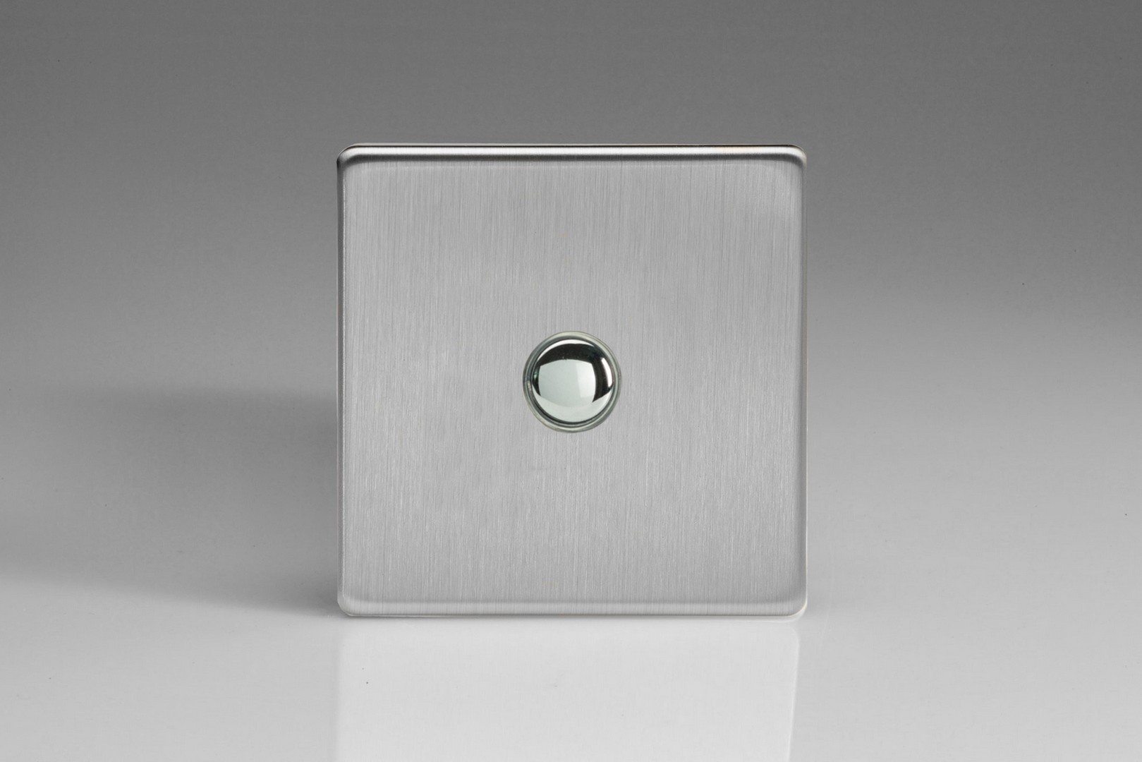 Brushed Steel Impulse Switch
