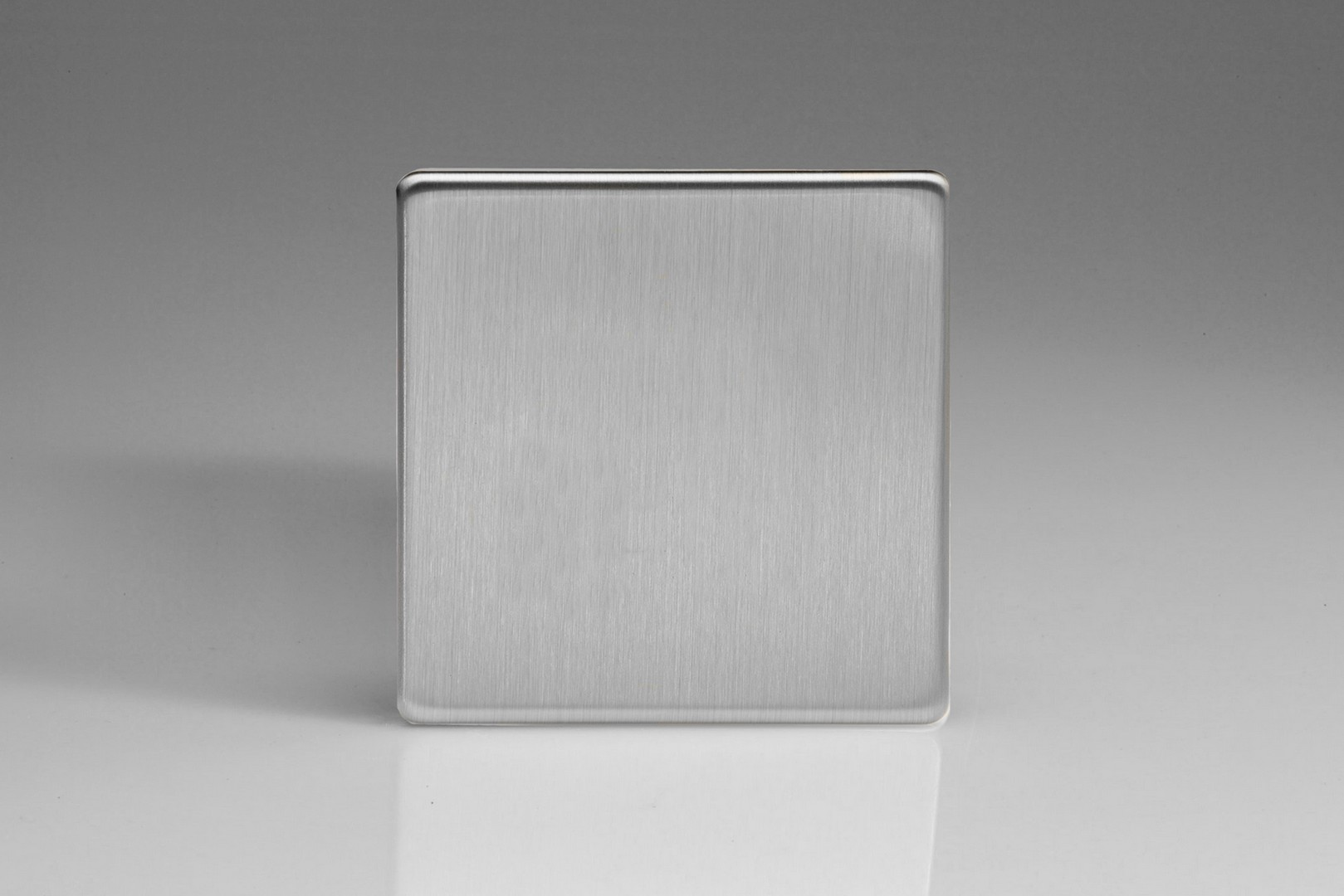 Screwless Brushed Steel