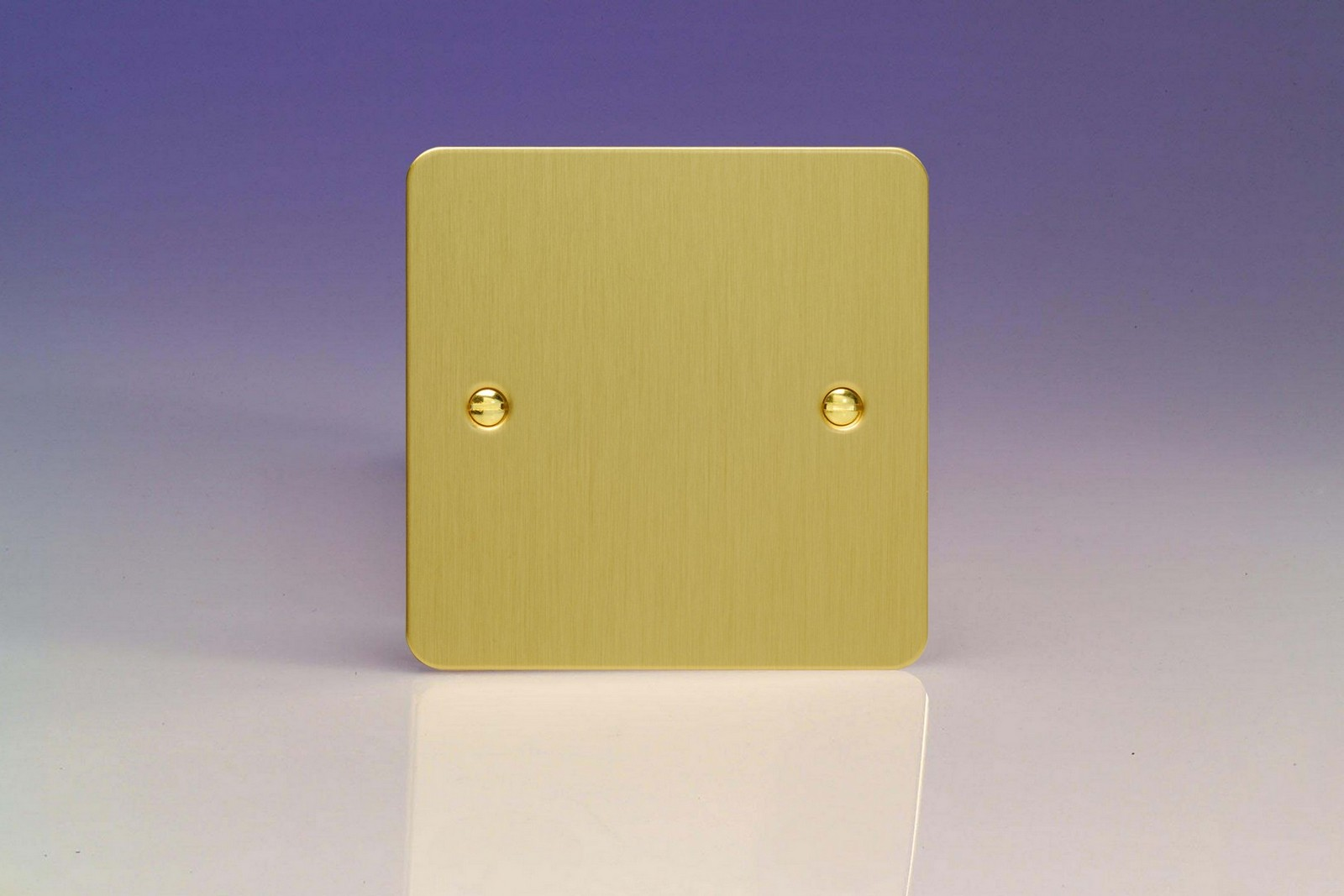 Ultraflat Brushed Brass