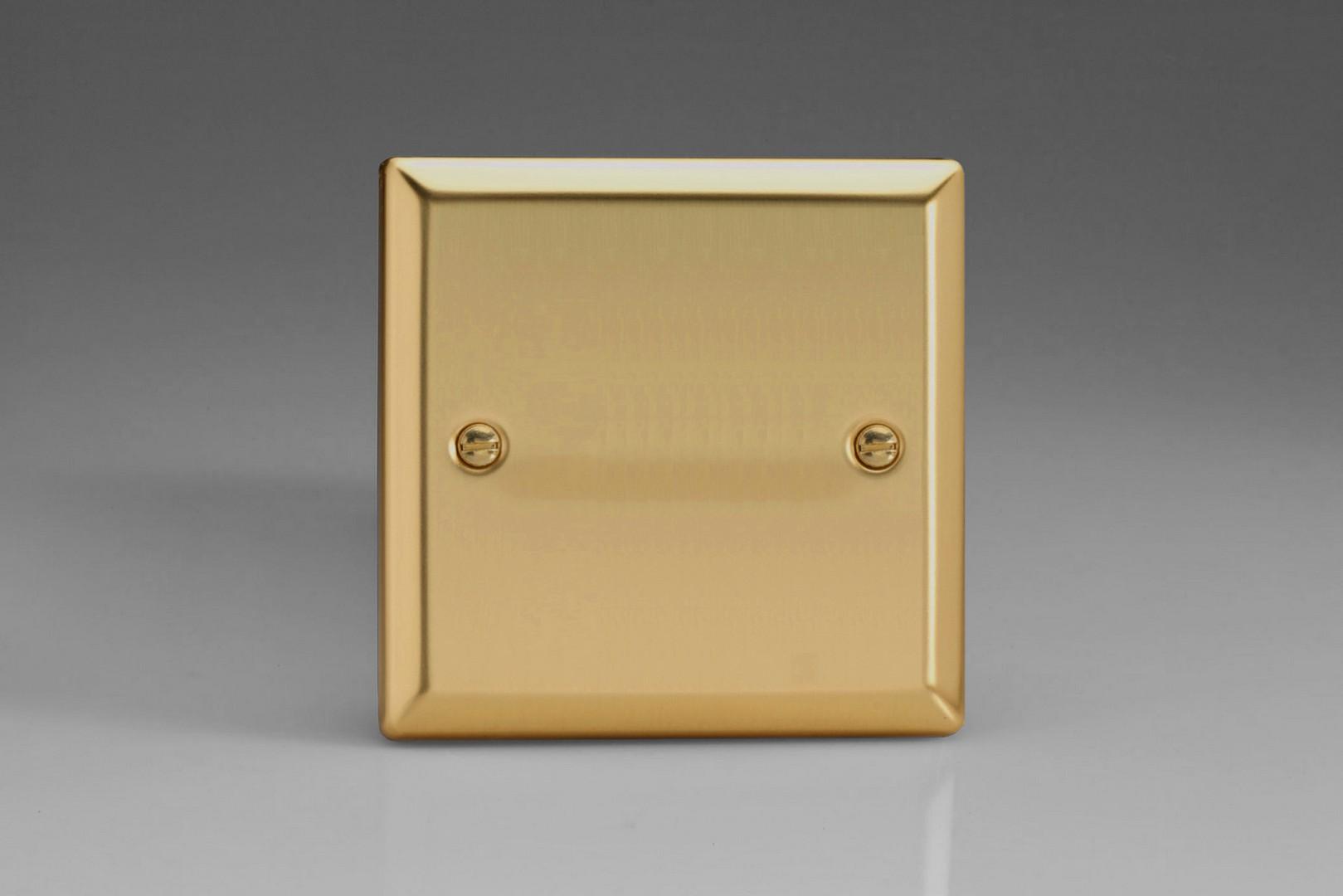 Varilight Classic Victorian Brass Range 2 Way Switch Double Pole