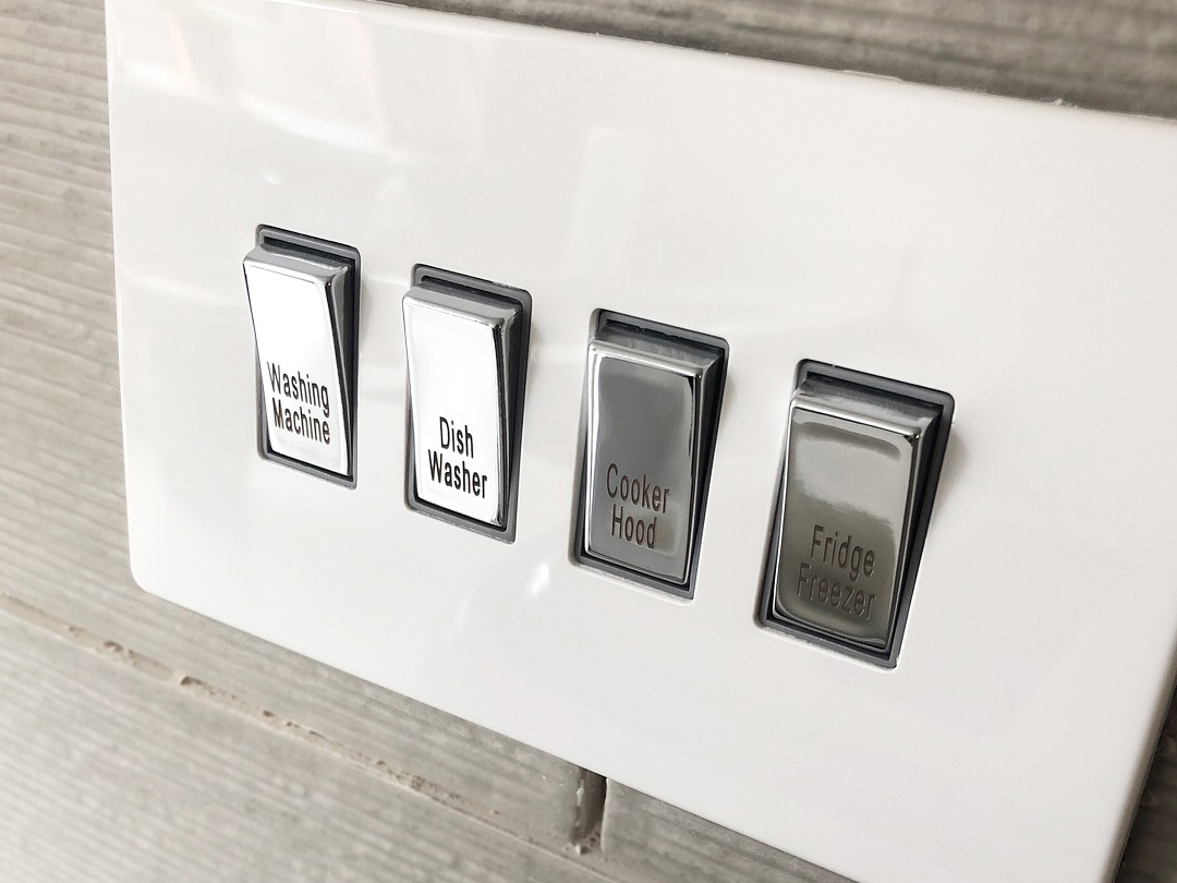Varilight Bespoke Switches And Sockets Wiring Instructions Our Engraving Service Is Particularly Popular For That Are Being Installed Into Rental Properties We Offer A Number Of These Engraved As