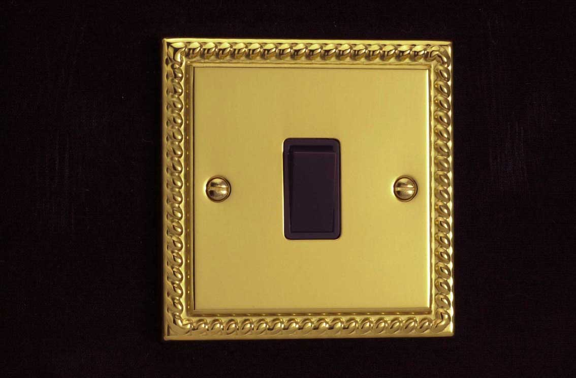 Varilight Dimmers Switches Sockets Volex Switch Wiring Diagram With Decorative Finishes Ranging From Contemporary Brushed Steel To Classical Georgian Brass We Have A Finish Suit Every Design Scheme Variety Of