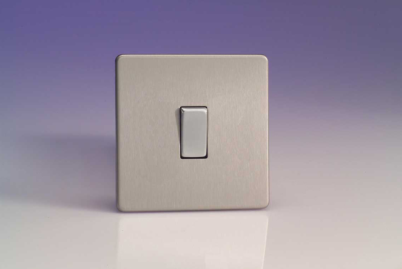 Varilight Dimmers Switches Sockets Way Light Switch Uk Wiring Double Pole With Decorative Finishes Ranging From Contemporary Brushed Steel