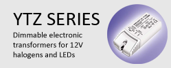 YTZ Series Dimmable 12V Transformers